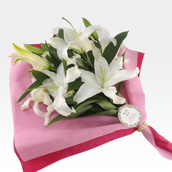 ramo de flores con lirios rs 4 1 - Imgenes De Ramos De Flores