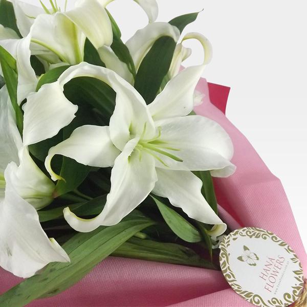 ramo de flores con lirios rs 4 1 - Imagenes De Ramos De Flores