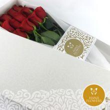Caja de 12 rosas (CJ-2)