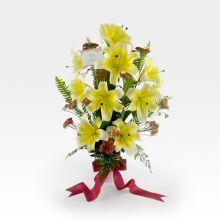 Arreglo Floral Romantico de Lirios (AR-5)