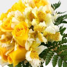 Bouquet rosas & astromelias (NV-9) - #1