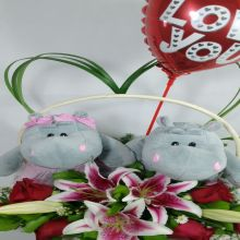 Pareja de Hipopotamos enamorados (HC-2) - #1