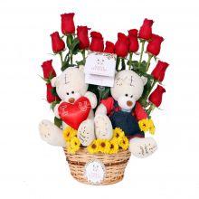 Mr. & Mrs Bear enamorados (FO-6)