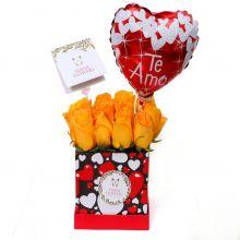Box de rosas amarillas (Bx-05)